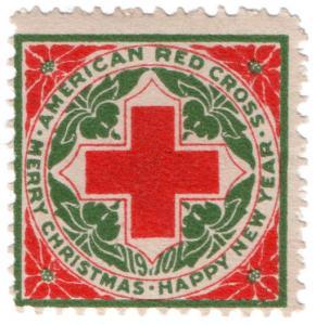 (I.B) US Cinderella : American Red Cross Christmas Seal (1910)