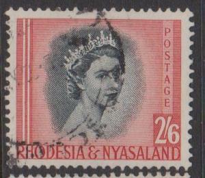 Rhodesia and Nyasaland Sc#152 Used