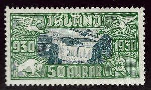 Iceland SC C7 Mint F-VF SCV$55.00...An Amazing Place!