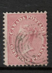 Canada #11 Used Fine **With Certificate**