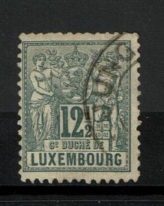 Luxembourg SC# 53, Used - S783