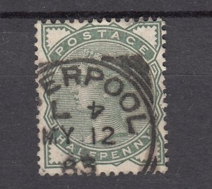 J28073 1880-1 great britain used #78 queen