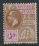 British Guiana SG 261 Mint Hinged  (Sc# 180 see details)