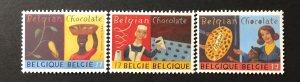 Belgium 1999 #1744-6, MNH, CV $3.30