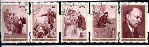 Burundi Used 350-4 Lenin 1970