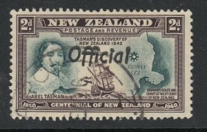 New Zealand, Sc O79a (SG O144a), used, FF Joined