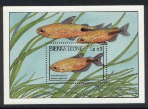 Sierra Leone 963 MNH Fish