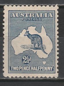 AUSTRALIA 1915 KANGAROO 21/2D 2ND WMK