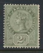 Jamaica  SG 28a  Mint Hinged - see scan and details
