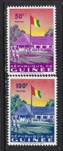 GUINEA 188-89 MNH FLAG Z229