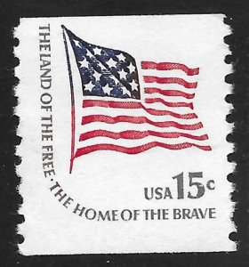 US #1618C 15c Americana - Fort McHenry Flag ~ MNH