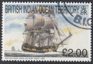 BIOT 1999 used Sc #216 2pd Kent Sailing Ships