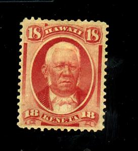 Hawaii #34 MINT F-VF OG HR Cat $95