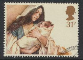GB SG 1270 SC# 1091 - Used First Day Cancel - Christmas