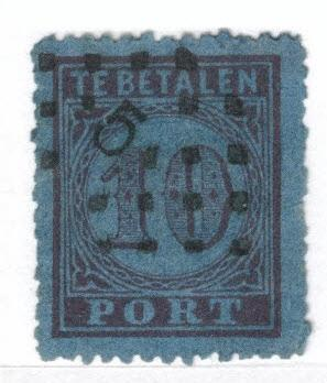 Netherlands Scott J2 Postage Due 1870 CV $20