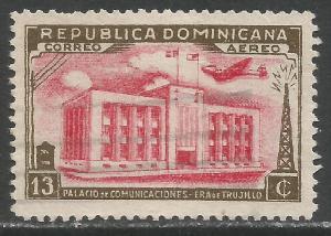 DOMINICAN REPUBLIC C50 VFU M867-2