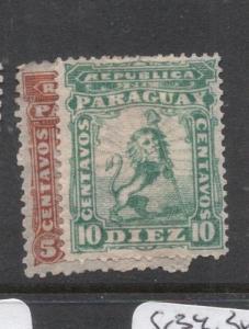Paraguay SC 12 MOG, 13 MNG (1dfm)