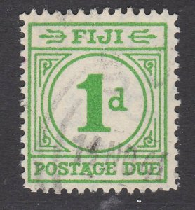 FIJI POSTAGE DUE 1940 1d SG D11 fine used - scarce used - cat £70...........L535