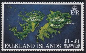 Falkland Islands B1 MNH (1982)