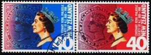 New Zealand. 1988 40c(Pair) S.G.1448/1449  Fine Used
