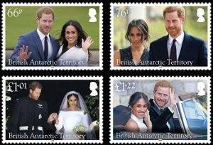 Stamps British Antarctic Territory 2018. - Royal Wedding.