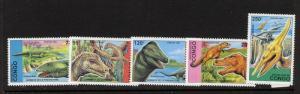 Congo PR 1043-7 MNH - Dinosaurs
