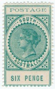 (I.B) Australia Postal : South Australia 6d (SG 270)