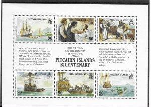 Pitcairn Islands #321 MNH - Stamp Set