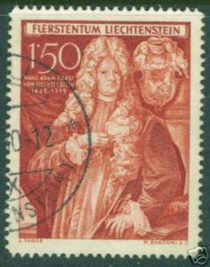 LIECHTENSTEIN Scott 242 Used  1949  stamp CV $9
