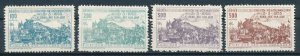 [I1709] Vietnam 1956 Railway good set of stamps very fine no gum $190