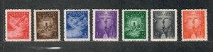 Vatican City Sc#c9-15 M/NH/VF, Cv. $50.75