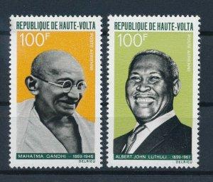 [I912] Upper Volta Airmail Gandhi good set of stamps very fine MNH