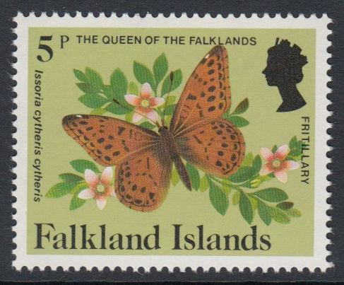 Falkland Islands - 1984 Insects and Spiders (5p) (MNH)