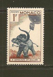 Monaco 340 Elephant and Balloon MNH
