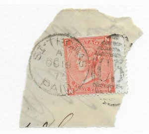 Danish West Indies D.W.I. A 13 Used - Stamp CAT VALUE $57.50