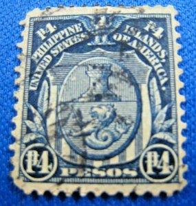 PHILIPPINES 1911  -  SCOTT # 273  -  USED                (Hp18)