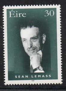 Ireland Sc 1178 1999 Sean Lemass  stamp  mint NH