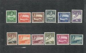 Antigua Sc#84-95 M/NH/VF, Cv. $105