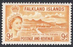 FALKLAND ISLANDS SCOTT 126