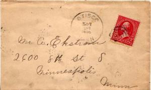 United States Minnesota Otisco 1898 target.