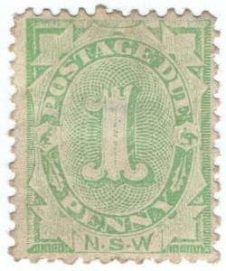 (I.B) Australia - NSW Postal : Postage Due 1d (SG D12)