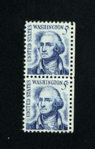 USA #1283  Mint NH pair 1965-78 PD .13