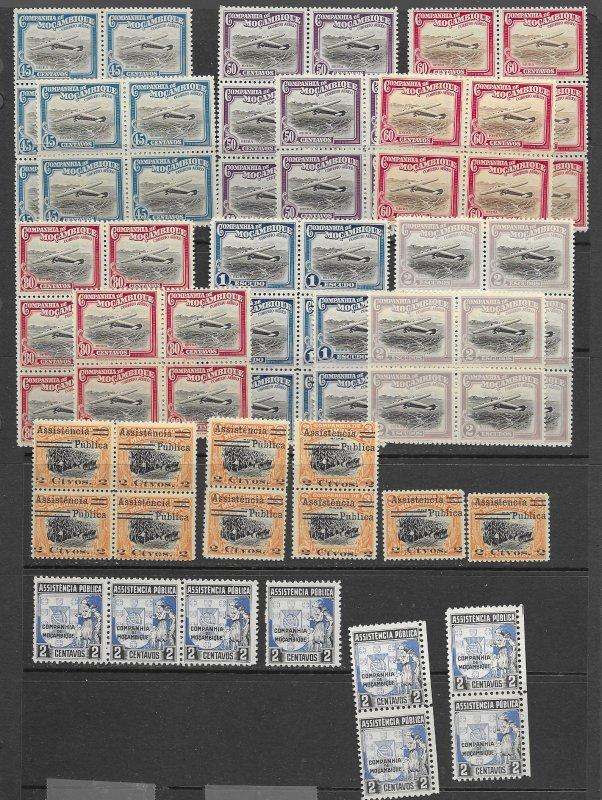 Mozambique Co. 201, C1-12,RA1,RA3 MNH, f- vf see desc. 2019 CV$96.70