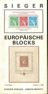 Sieger Europaische Blocks,