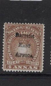 British East Africa SG 38 MOG (9dtt)