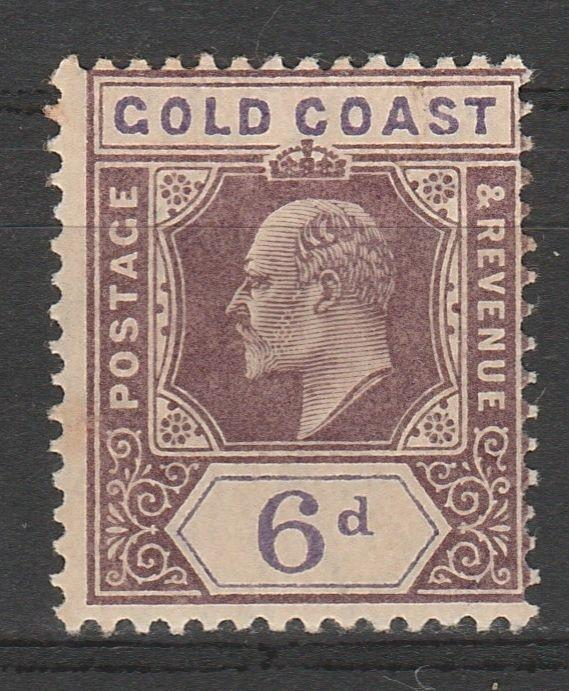 GOLD COAST 1904 KEVII 6D WMK MULTI CROWN CA