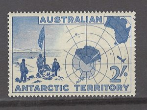 COLLECTION LOT # 3068 AUSTRALIAN ANTARCTIC TERRITORY #L5 MH 1957 CV=$11.50