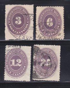 Mexico 176, 179, 181, 183 U Numeral