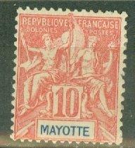B: Mayotte 6 mint CV $75