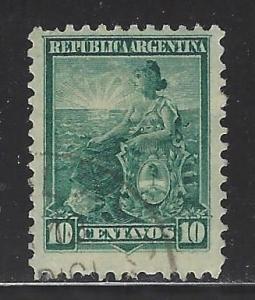 Argentina Scott # 129, used
